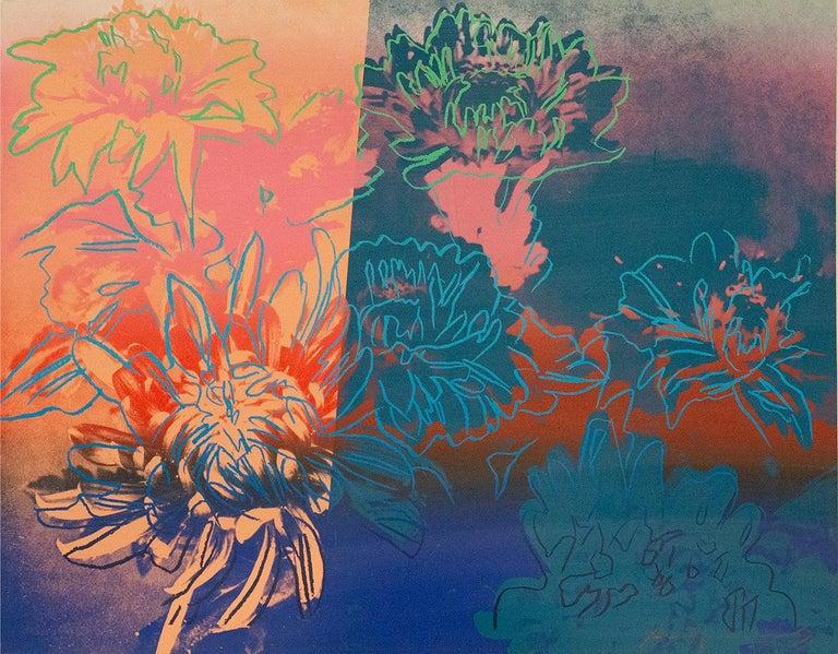 Andy Warhol, Kiku, portfolio of three screenprints, 1983 - Pop Art Print by Andy Warhol