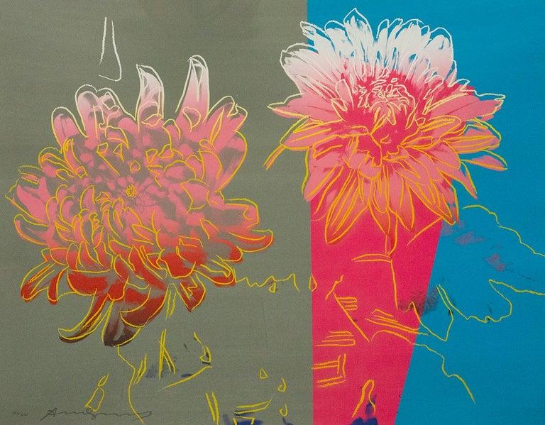 Andy Warhol, Kiku, portfolio of three screenprints, 1983 - Print by Andy Warhol