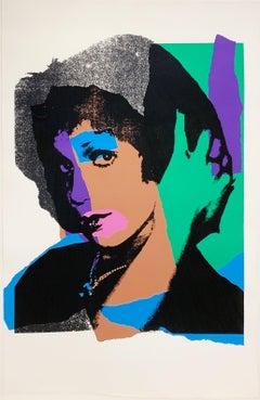 "Andy Warhol ""Ladies & Gentlemen"" 132; 1975; Screenprint; 43 1/2 x 28 1/2 inches"