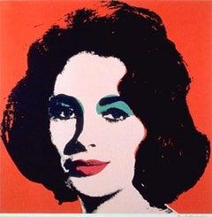 Andy Warhol 'Liz' Print 1964