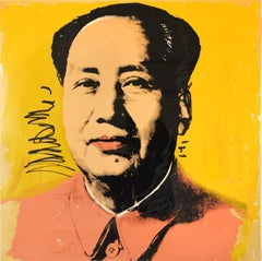 Andy Warhol, Mao ( II 97), Silkscreen, 1972