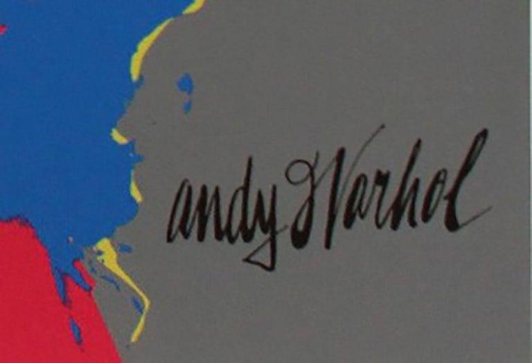 Andy Warhol MARILYN MONROE - 1967 -  baby blue - Blue Figurative Print by Andy Warhol