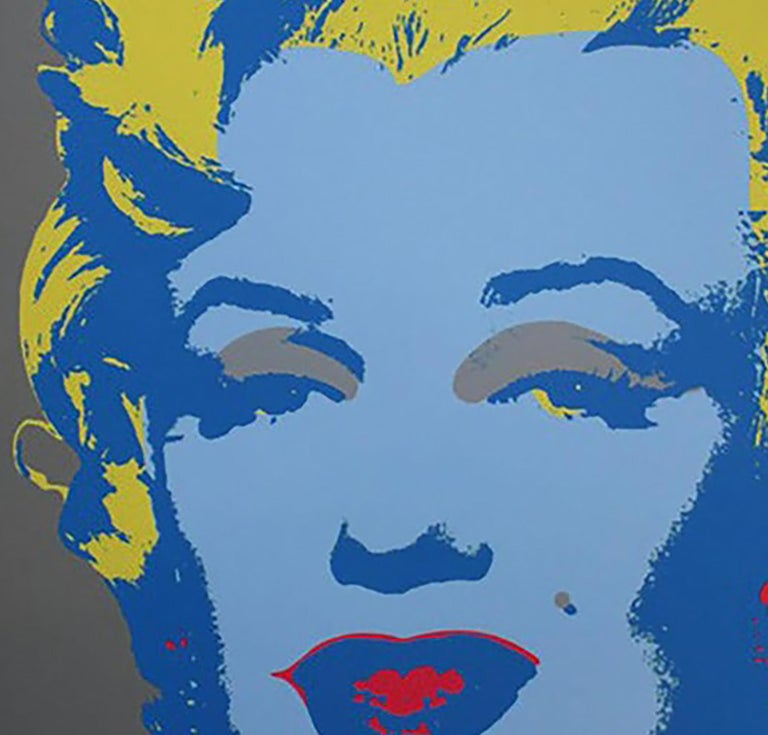 Andy Warhol MARILYN MONROE - 1967 -  baby blue For Sale 1