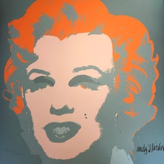Andy Warhol MARILYN MONROE - 1967 -  baby Orange