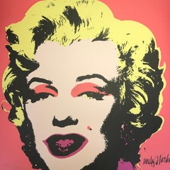 Andy Warhol MARILYN MONROE - 1967 -  baby Pink