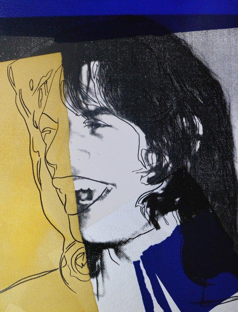 Andy Warhol, Mick Jagger, Screenprint, 1975 For Sale 1