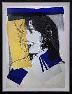 Andy Warhol, Mick Jagger, Screenprint, 1975