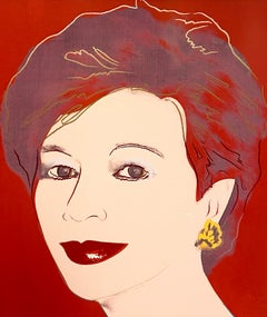 "Andy Warhol ""Portrait of Dorothy Blau""-Red"