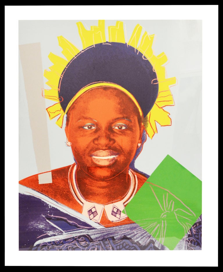 Andy Warhol, Queen Ntombi Twala of Swaziland - Pop Art Print by Andy Warhol
