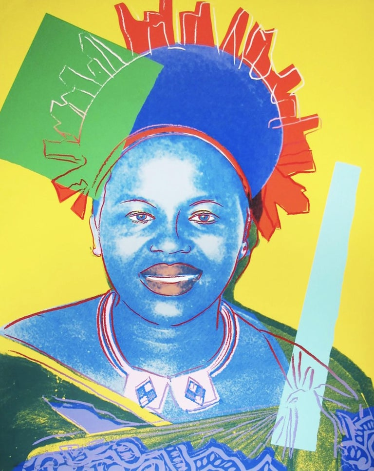 Andy Warhol, Queen Ntombi Twala of Swaziland - Print by Andy Warhol