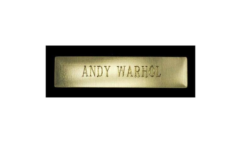 Andy Warhol Rare Santa Claus Color Lithograph Original Hand Signed Myths Pop Art For Sale 2
