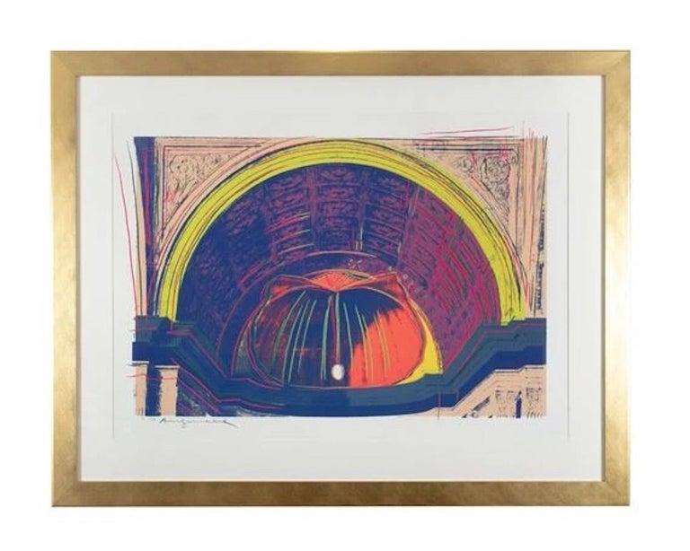 Andy Warhol 'Renaissance Paintings (Piero della Francesca) ' Screenprint 1984 - Contemporary Print by Andy Warhol