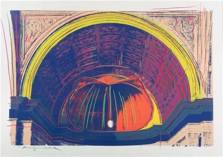 Andy Warhol 'Renaissance Paintings (Piero della Francesca) ' Screenprint 1984 - Print by Andy Warhol
