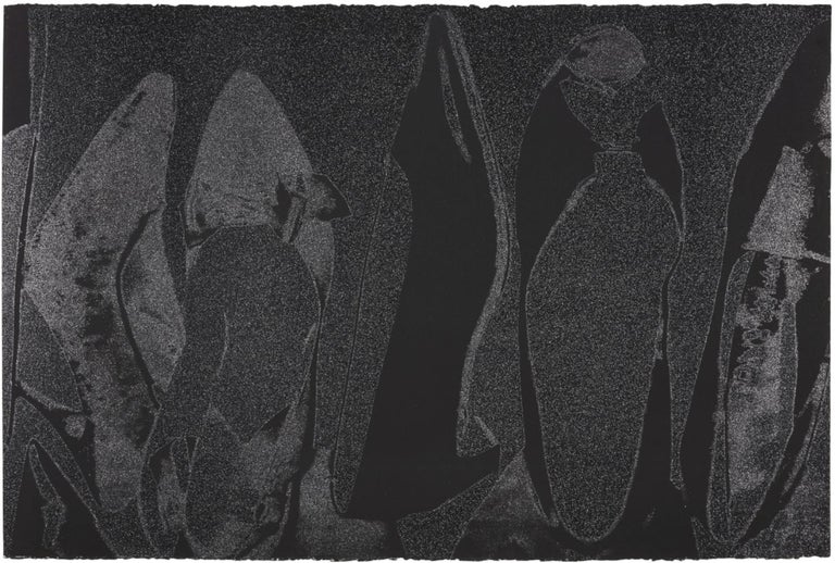 Andy Warhol, Shoes, Screenprint with Diamond Dust, 1980 - Print by Andy Warhol