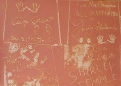 Andy Warhol, 'Sidewalk 304' 1983 Print