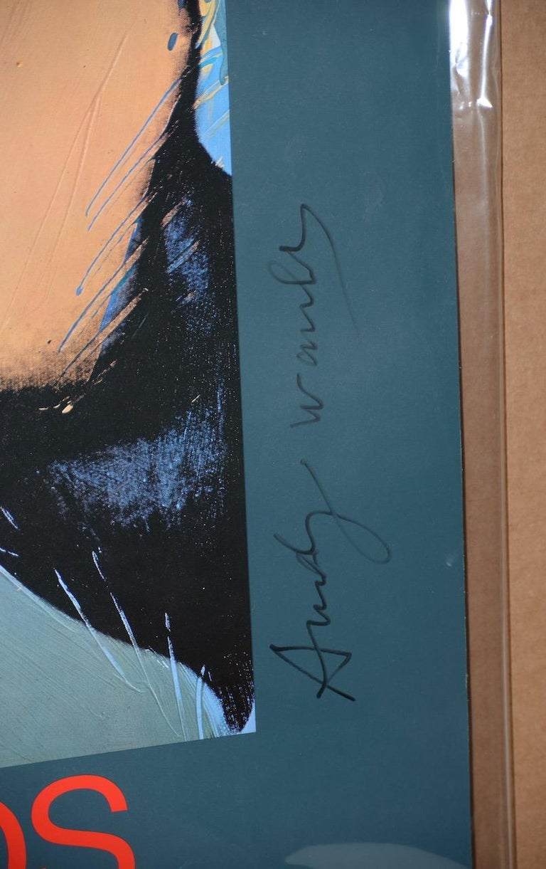 Andy Warhol Signed