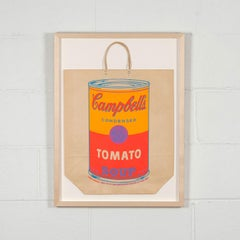 "Andy Warhol ""Soup Can Bag"""
