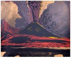 Andy Warhol, Vesuvius, Unique TP Silkscreen, signed, 1985