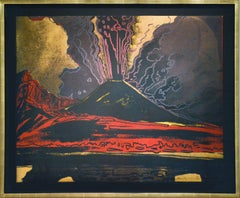 Andy Warhol, Vesuvius, Unique TP Silkscreen, signed, 1985