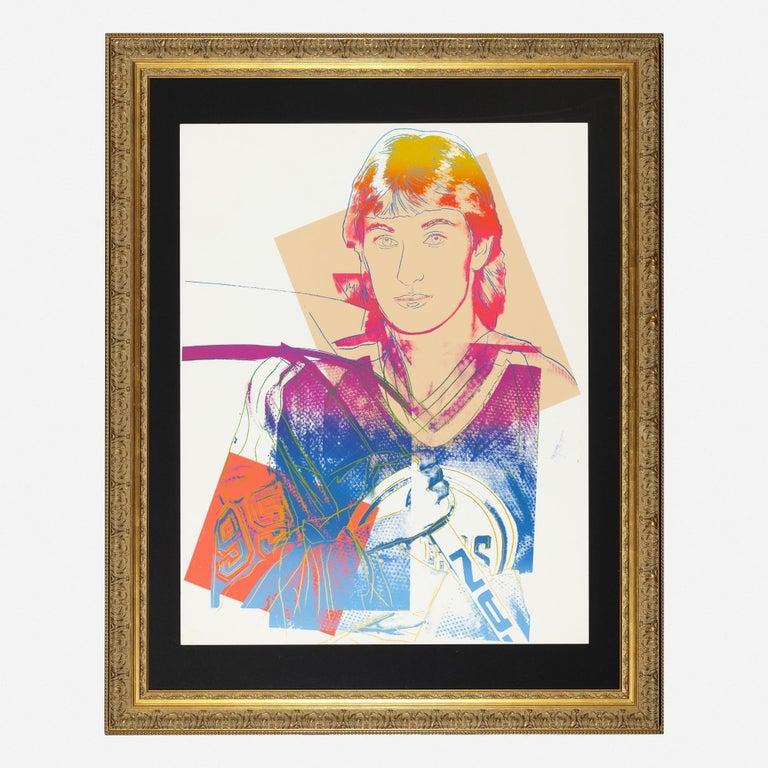 Andy Warhol 'Wayne Gretzky' Screenprint 1984 - Contemporary Print by Andy Warhol