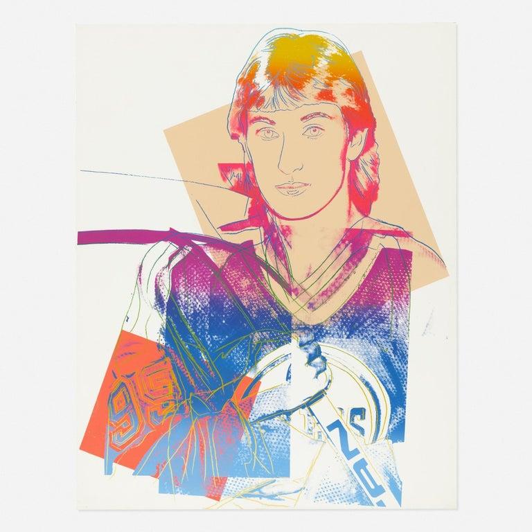 Andy Warhol 'Wayne Gretzky' Screenprint 1984 - Print by Andy Warhol