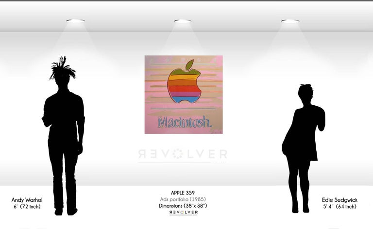 Apple (FS II.359) - Print by Andy Warhol
