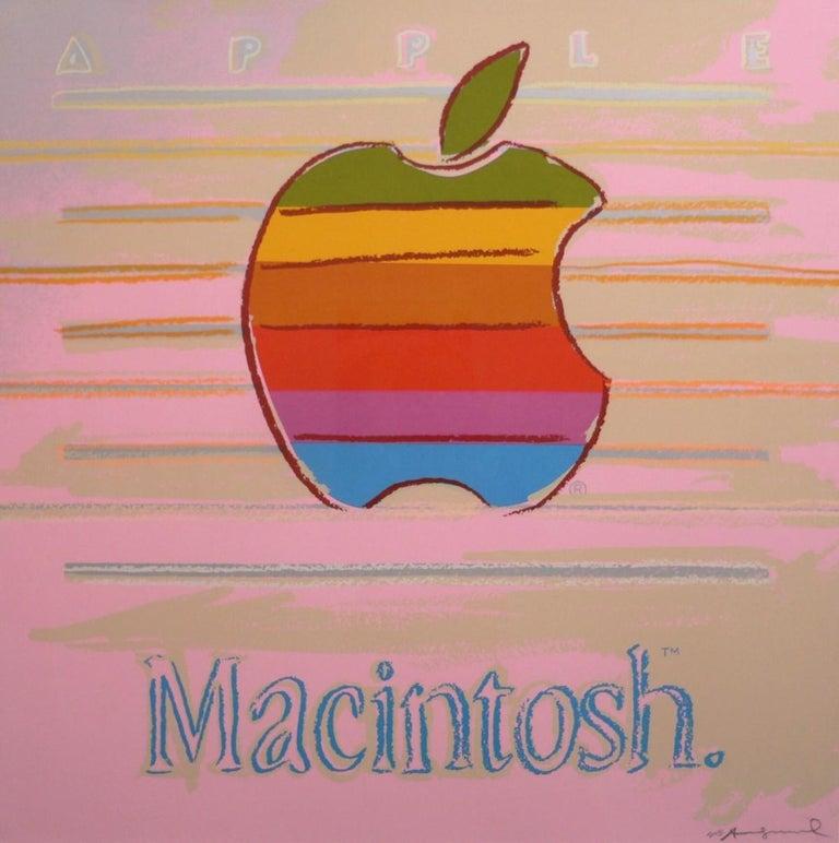 Andy Warhol Print - Apple (FS II.359)
