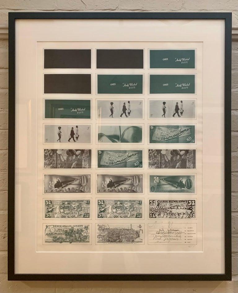 Art Cash (triptych) - Print by Andy Warhol