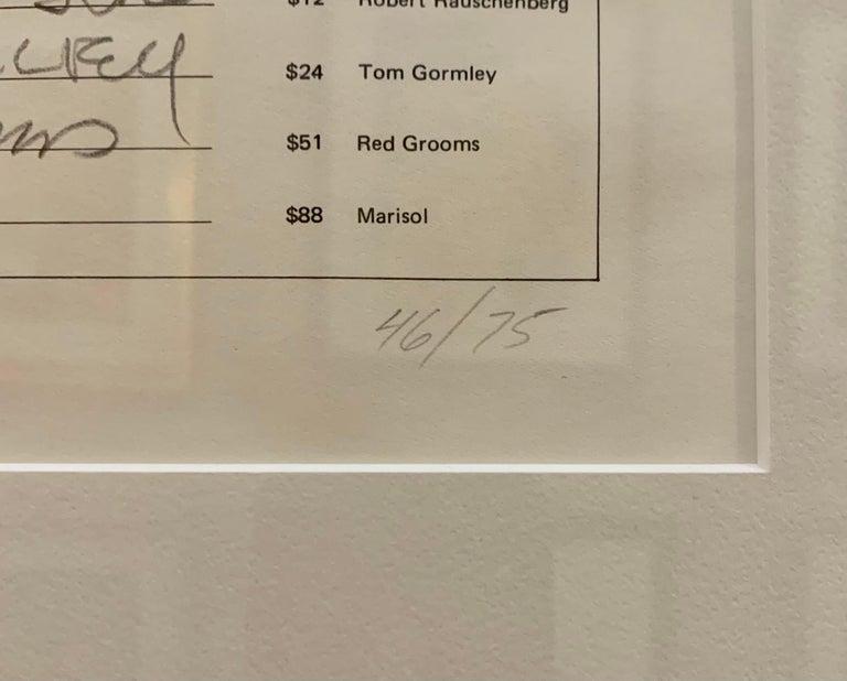 Art Cash (triptych) - Pop Art Print by Andy Warhol