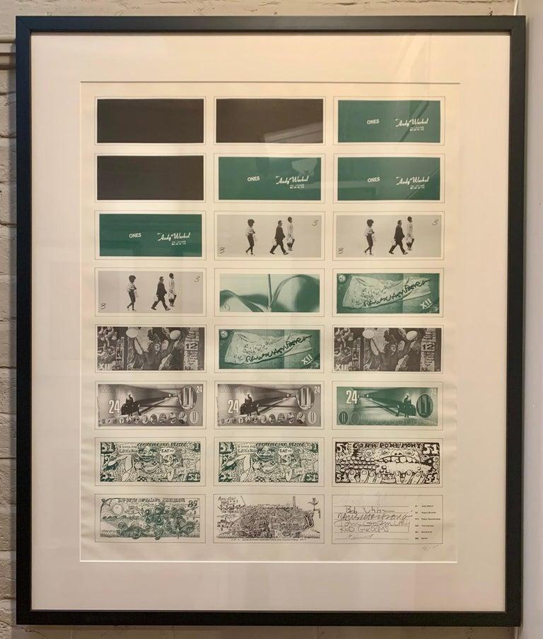 Art Cash (triptych) For Sale 1