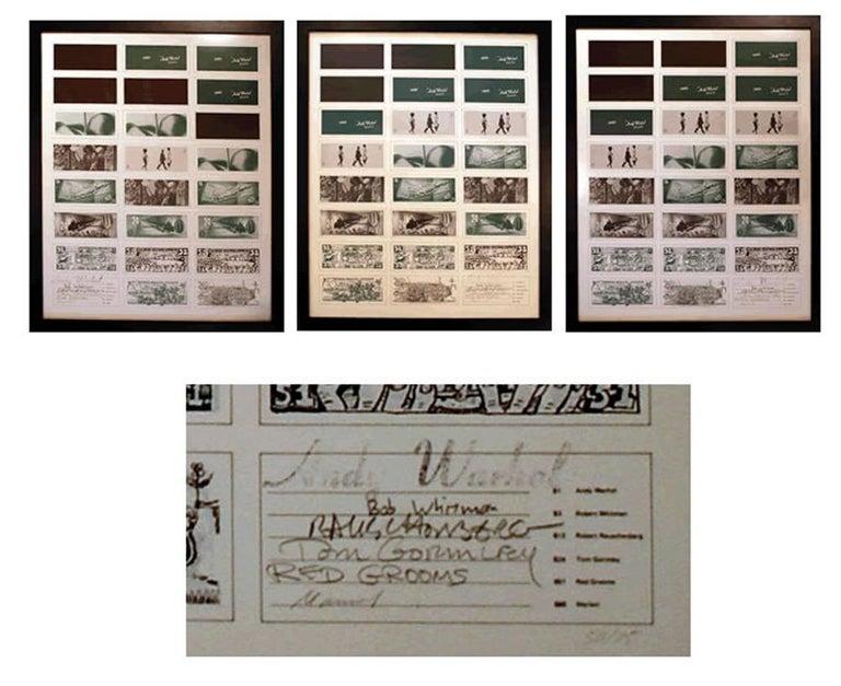 Andy Warhol Print - Art Cash (triptych)