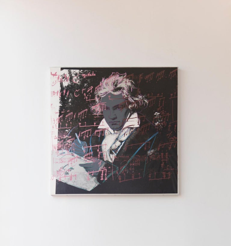 Beethoven (FS II.391) - Print by Andy Warhol