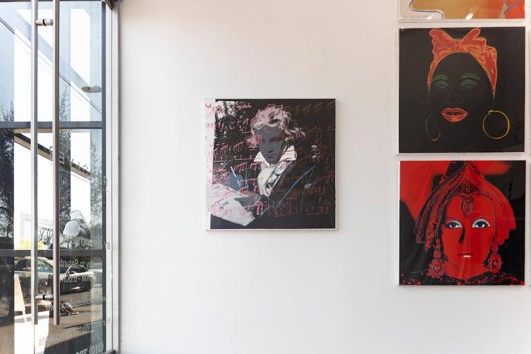 Beethoven (FS II.391) - Pop Art Print by Andy Warhol