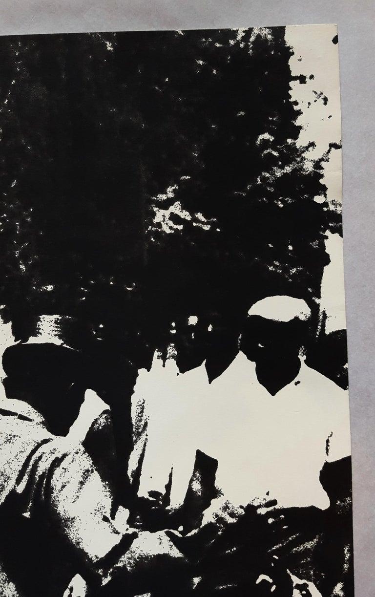 Birmingham Race Riot - Black Figurative Print by Andy Warhol