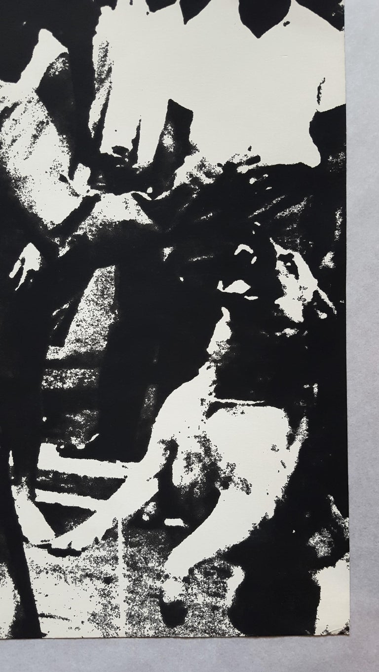 An original screenprint on Strathmore Drawing paper by American artist Andy Warhol (1928-1987) titled