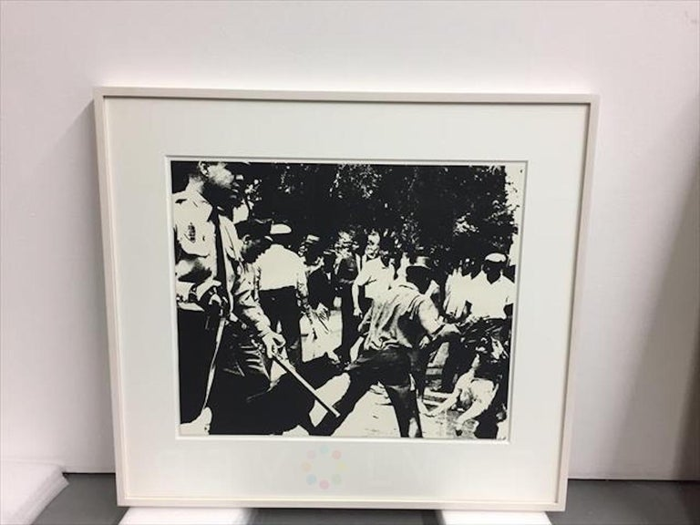 Birmingham Race Riot (FS II.3) - Pop Art Print by Andy Warhol
