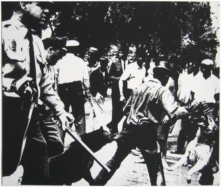 Andy Warhol Portrait Print - Birmingham Race Riot (FS II.3)