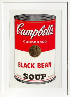 Black Bean from Campbell Soup I, FS.II.44 Screenprint by Andy Warhol 1968