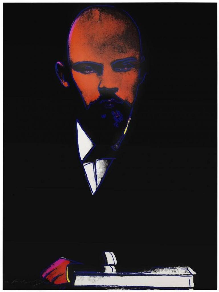 Black Lenin (FS II.402)  - Print by Andy Warhol