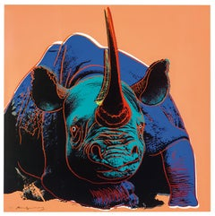 Black Rhinoceros from Endangered Species F&S II.301