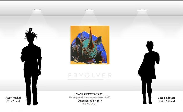 Black Rhinoceros (FS II.301) For Sale 1