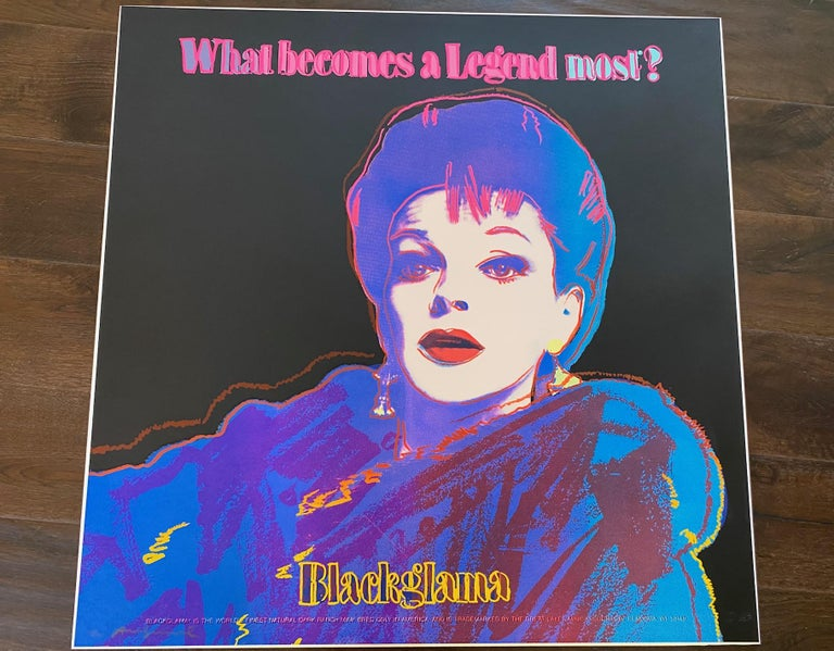 Blackglama (Judy Garland) 1985 F&S II.351 - Pop Art Print by Andy Warhol
