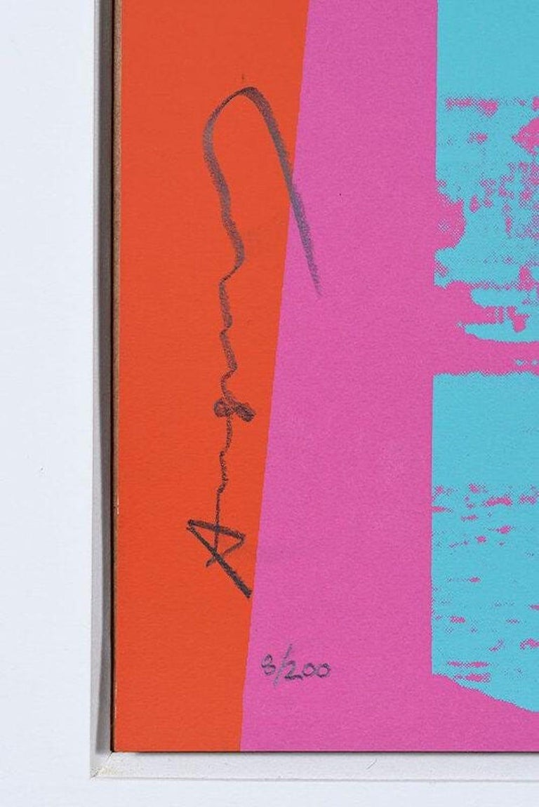 TECHNICAL INFORMATION:  Andy Warhol Brooklyn Bridge, FS 11.290 1983 Screenprint on Lenox Museum Board 39 1/4 x 39 1/4 in. Edition of 200 Pencil signed & numbered  Accompanied with COA by Gregg Shienbaum Fine Art.  Condition: This work is in
