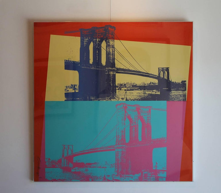 Brooklyn Bridge (FS II.290) - Pop Art Print by Andy Warhol