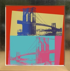 Brooklyn Bridge, FS.II.290, Screenprint by Andy Warhol 1983