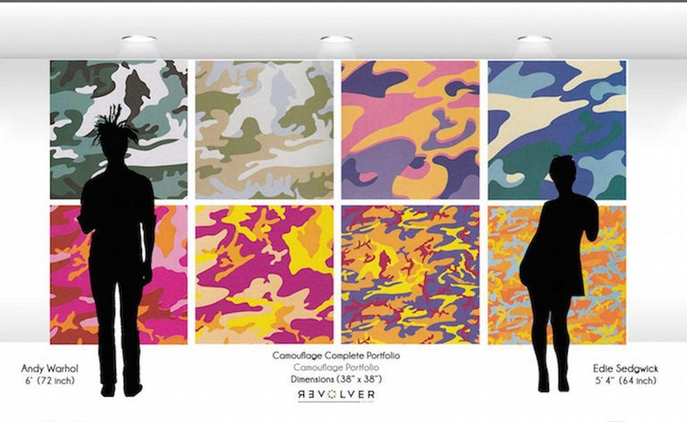 Camouflage, Complete Portfolio (FS II.406-FS II.413) For Sale 7