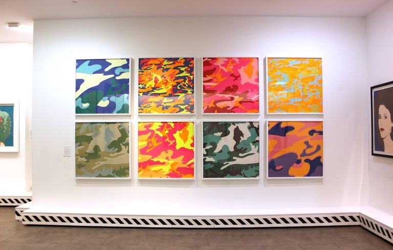 Camouflage, Complete Portfolio (FS II.406-FS II.413) - Print by Andy Warhol