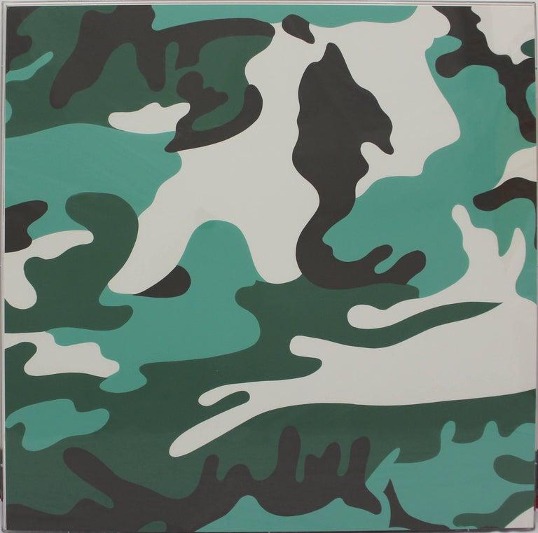 Camouflage, Complete Portfolio (FS II.406-FS II.413) - Pop Art Print by Andy Warhol