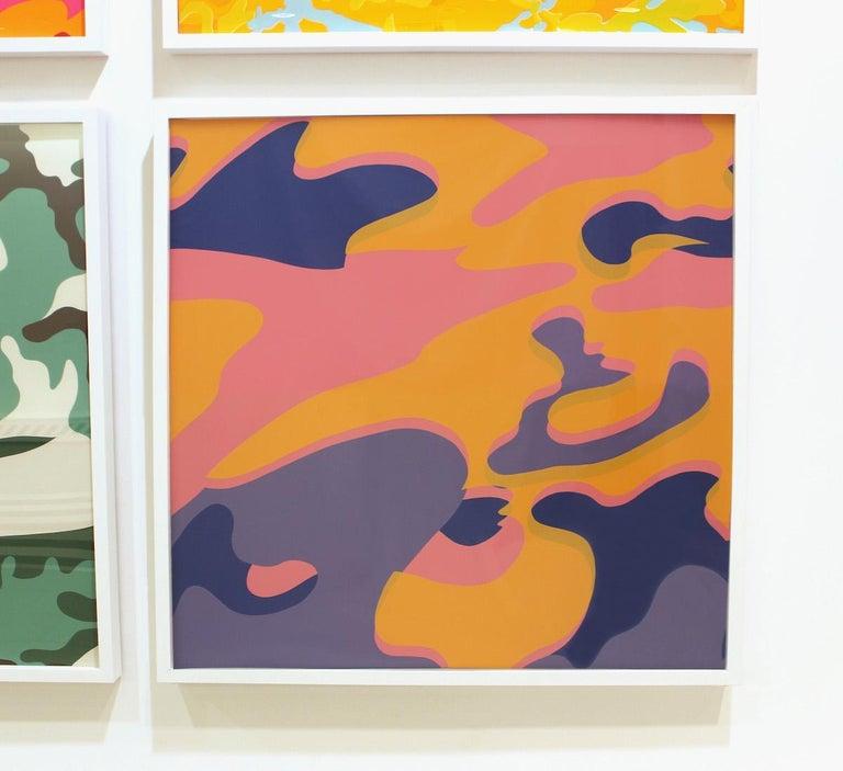 Camouflage (FS II.410) - Pop Art Print by Andy Warhol