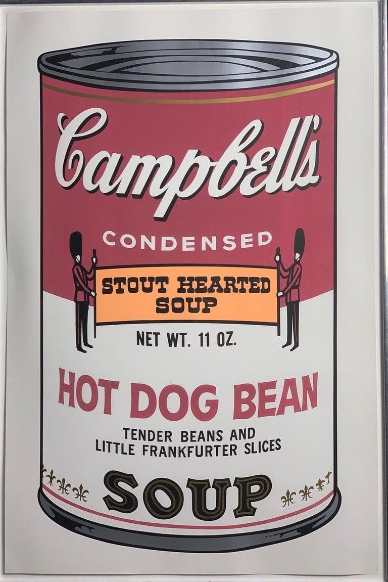 Campbell ́s Soup II (F. & S. II. 54-63 Ten screen prints), 1969 6